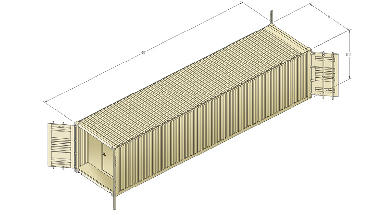 Armag container SCIF