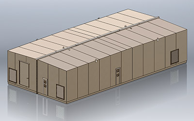 armag modular HEMP shielded enclosure preview
