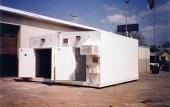 Duplex modular arms vault armory with double doors