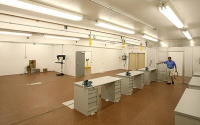 Interior IED lab