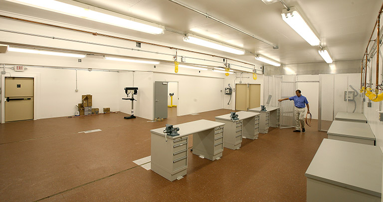 Interior IED lab