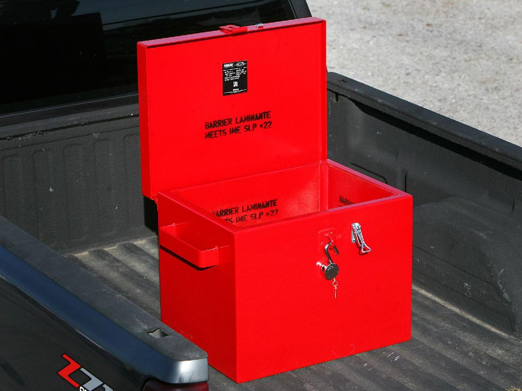 IME / DOT Box in truck bed