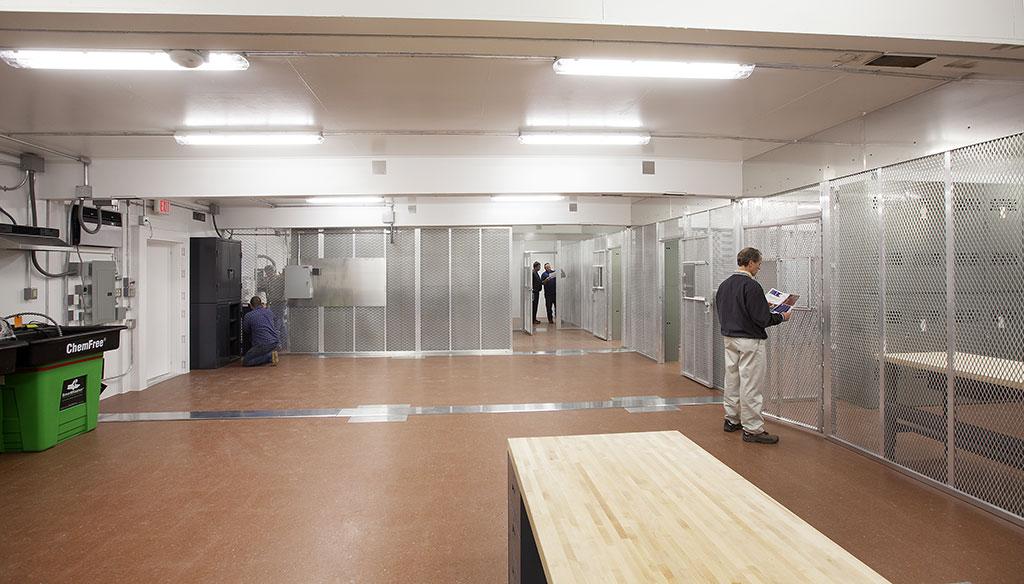 Interior of an Armag Multiplex Arms Vault