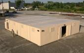 Four unit multiplex arms vault armory