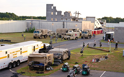 National Guard trains for disaster