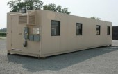 Portable, high security modular office building