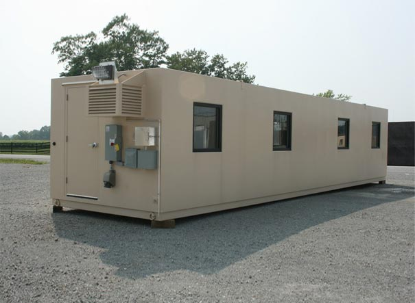 Portable office buildings armag corporation for Portable shed office