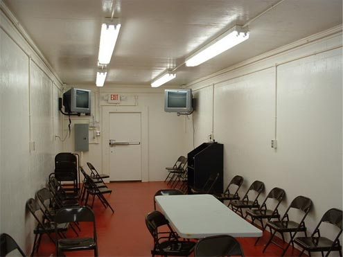 Range Viewing Station interior
