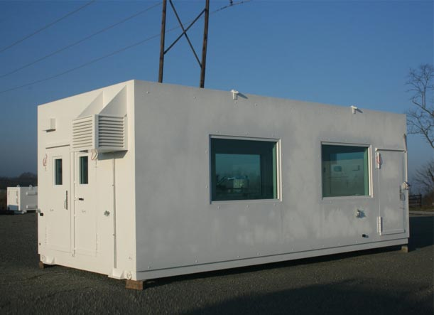 Portable, modular, security post building