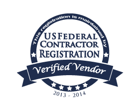 U.S. Federal Contractor Registration seal
